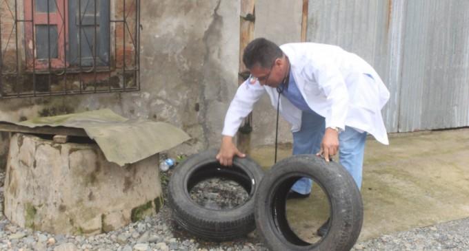 MSP elimina sitios de reproducción de mosquitos en Buena Fe