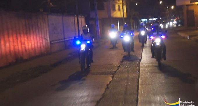 Mil policías controlaron la seguridad durante el fin de año en Los Ríos