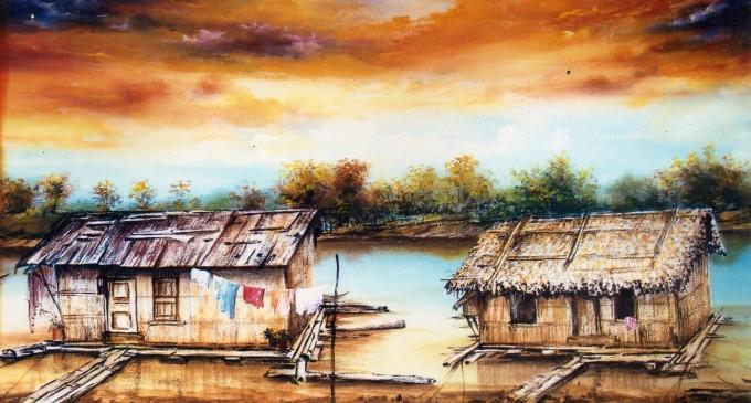 A través de la pintura rescata tradiciones de Babahoyo y Los Ríos