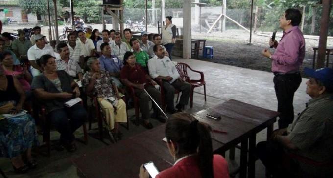 Habitantes del sector Matilde Esther se identifican con Los Ríos