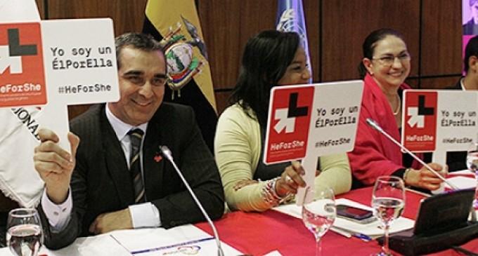 Consejo de la Judicatura se suma a la campaña HeForShe (ÉlPorElla) que impulsa ONU Mujeres
