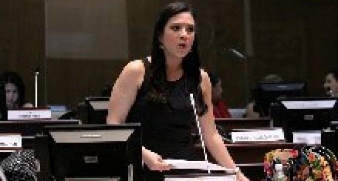Pamela Falconi Rinde Cuentas a la Ciudadanía de su Gestión