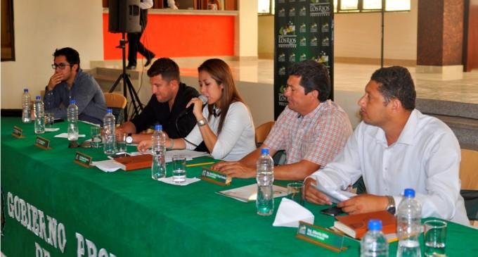 Consejo Provincial de Los Ríos evaluó situación por las lluvias