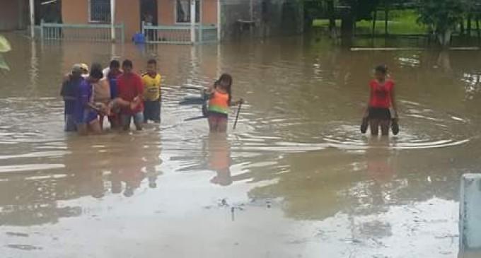 LLUVIAS DEJAN ESTRAGOS EN VARIOS PUNTOS DE LOS RÍOS