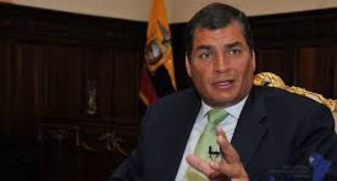 """Correa: """"las marchas son una estrategia de desgaste con intención de medir fuerzas"""""""