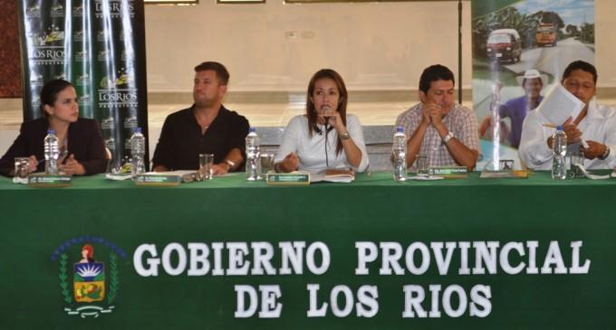 Viceprefecta Vanessa Delgado asume despacho de la Prefectura