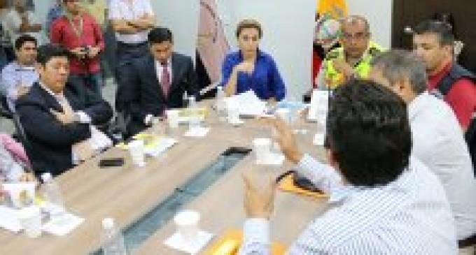 Autoridades de la provincia asumieron importantes compromisos en reunión del Comité de Seguridad Ciudadana