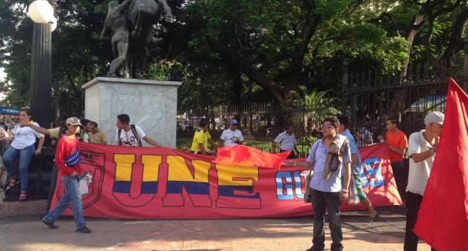 UNE se suma a marchas contra medidas del gobierno