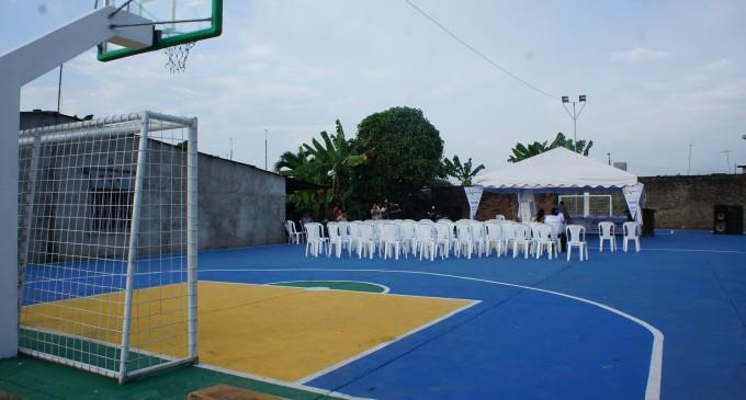 Barrio Las Mercedes en San Cristóbal  cuentan con nueva cancha