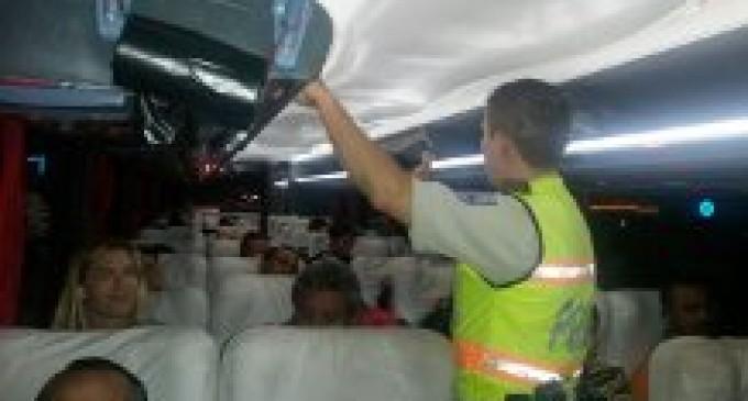 Intensifican operativos de control a buses interprovinciales en horarios nocturnos, en Los Ríos