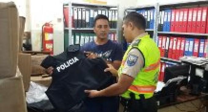 Se distribuyen 1.340 nuevos chalecos antibalas en la Policía de Los Ríos