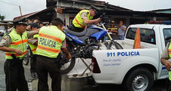 Menor de 16 años es capturado con moto robada en Babahoyo