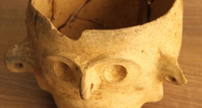 Figura arqueológica fue recupera por la Policía Judicial, en Mocache
