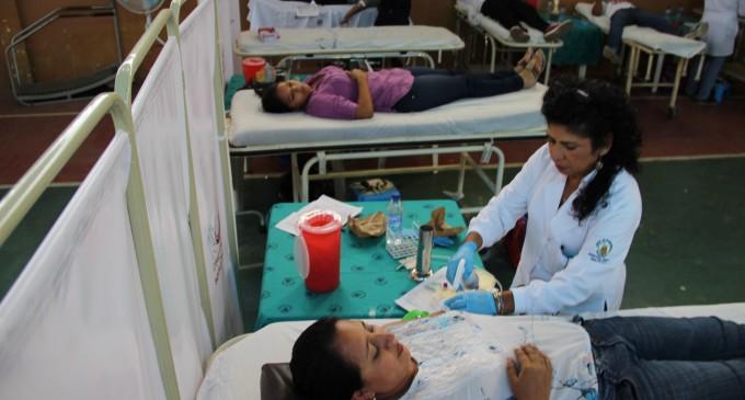 180 paquetes sanguíneos se recolectaron en jornada de donación