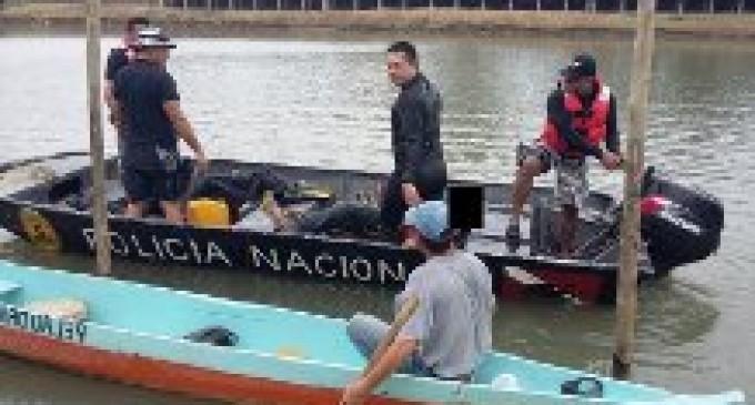 Agentes del GOE hallaron un cadáver en el río Babahoyo