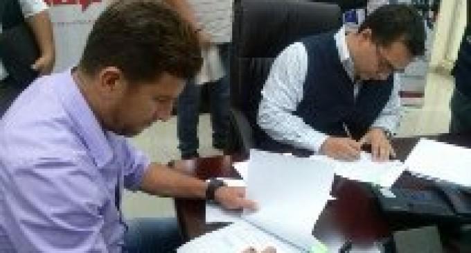 ECU 911 Babahoyo firma convenio con los Gobiernos Autónomos Descentralizados de Vinces y Ventanas