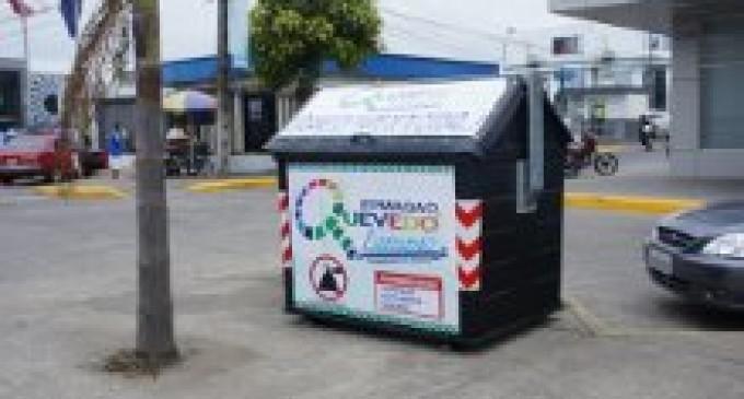 Empresa de Aseo y Gestión Ambiental coloca contenedores