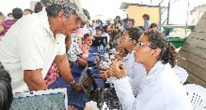 BRIGADA MÉDICA ATENDIÓ MÁS DE 1.200 MORADORES DE LA PARROQUIA CARACOL
