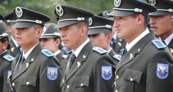 Policía de Los Ríos, incorpora a sus filas 300 nuevos uniformados
