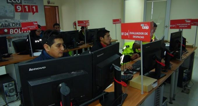 ECU 911 fortalece su operatividad en territorio con Sala Operativa en Bolívar