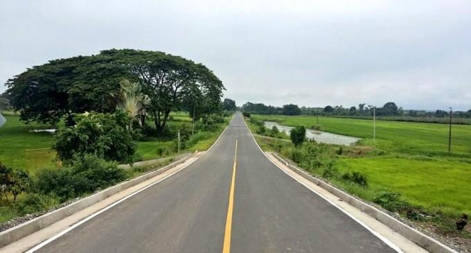 Prefectura de Los Ríos inauguró carretera La Troncal –Buenos Aires