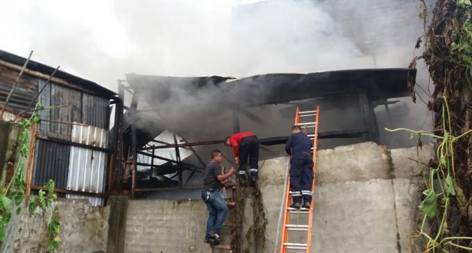 ECU911 visualizó y coordinó atención a incendio en Babahoyo