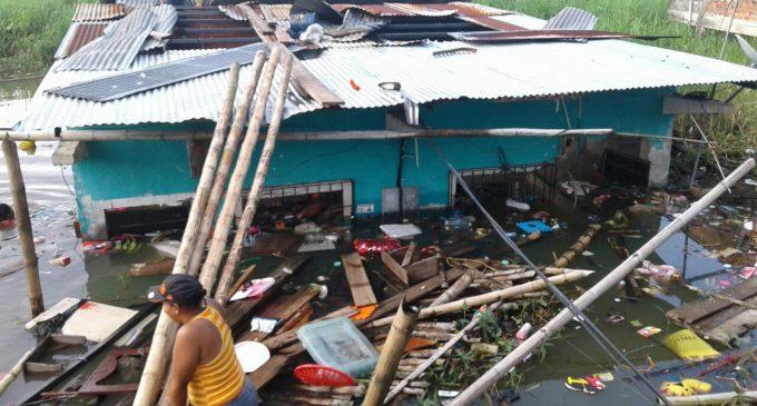 Más de cien viviendas afectadas en Babahoyo