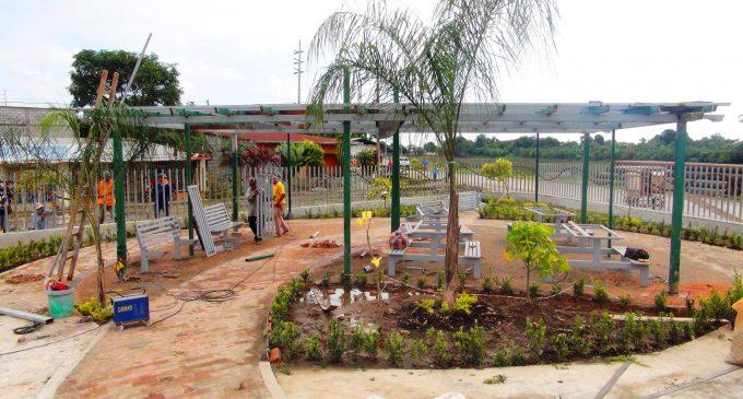 PARQUE DE CIUDADELA NICARAGUA PRÓXIMO A CONCLUIR