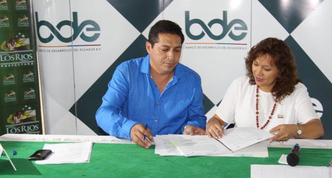 BDE asigna USD 5,4 millones para más obras en Los Ríos