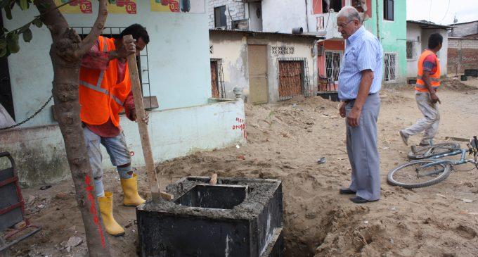 Nuevas redes de agua para Barreiro