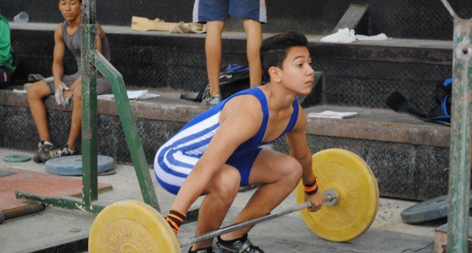 Los Ríos, a torneo nacional de levantamiento de pesas