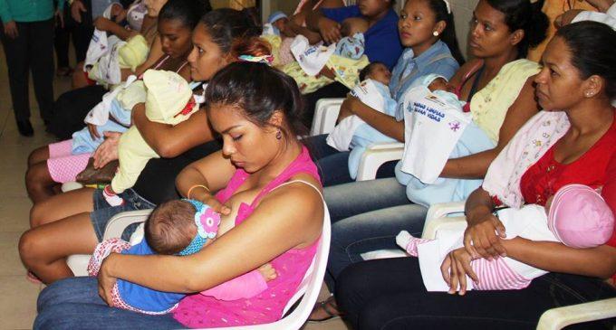 abahoyo fue sede de evento zonal por Semana Mundial de la Lactancia Materna