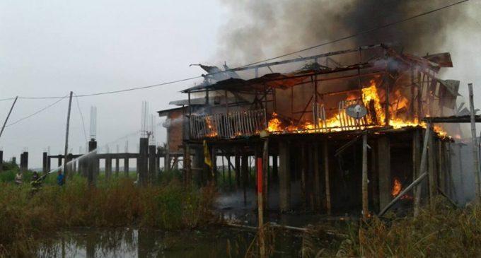ECU 911 coordinó con organismos de respuesta la atención de incendio en Babahoyo