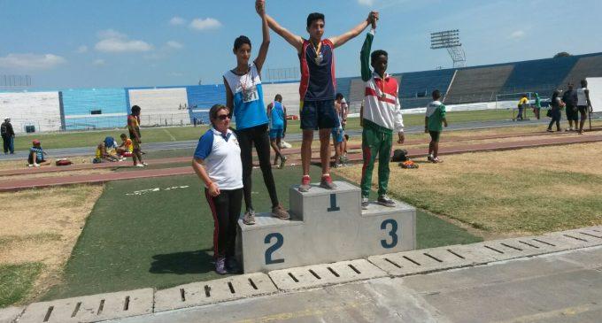Atletismo dio medallas de plata y bronce para Los Ríos
