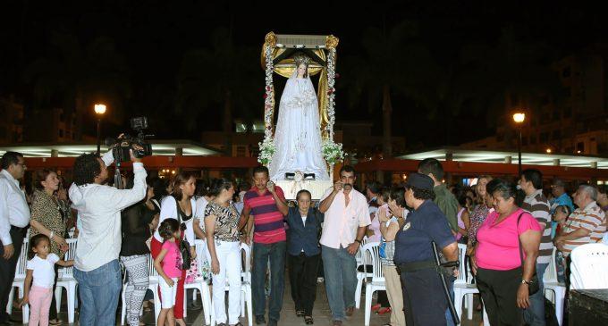 Comisión de Fiestas del Municipio aporta con los actos religiosos  que desarrolla la Iglesia San José en honor a la Virgen de La Merced