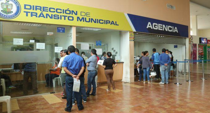 AGENCIA DE TRÁNSITO MUNICIPAL CONTINÚA ATENDIENDO A USUARIOS