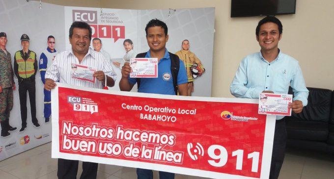 Periodistas de Babahoyo conocieron modelo de gestión de ECU 911