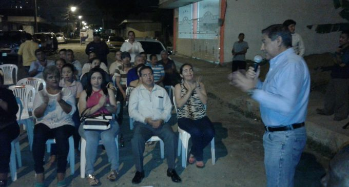 Alcalde Jorge Domínguez hizo la entrega oficial de obras al sector barrial La Judith