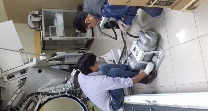 Tomas de muestras para tomografía se reactivan en el Hospital General Martín Icaza de Babahoyo