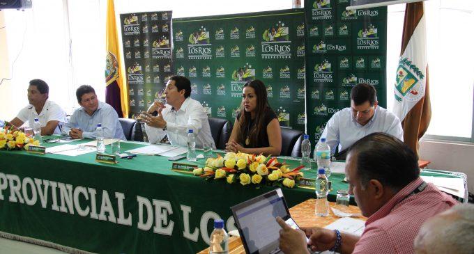 El Consejo Provincial de Los Ríos analizó presupuesto de 2017