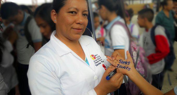 Distrito 12D05 SALUD conmemora el Día Mundial de la Lucha contra el VIH -SIDA