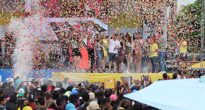 Babahoyo vive su carnaval El Salto 2017