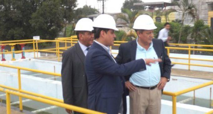 Consorcio inició la gestión operativa para mejorar la calidad y cantidad el agua potable a la población
