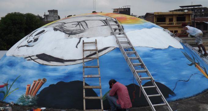 Mural es un mensaje de cuidado al ecosistema