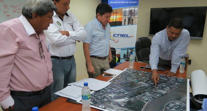 La fuerza tras las obras eléctricas de CNEL EP