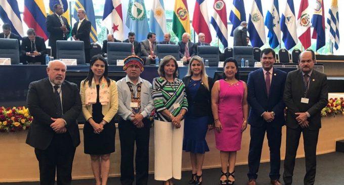 Legisladores representaron a Ecuador en XXXIII  Asamblea del PARLATINO