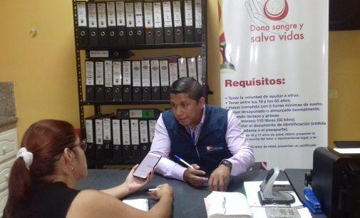 Martin Icaza de Babahoyo promueve la  donación voluntaria de sangre