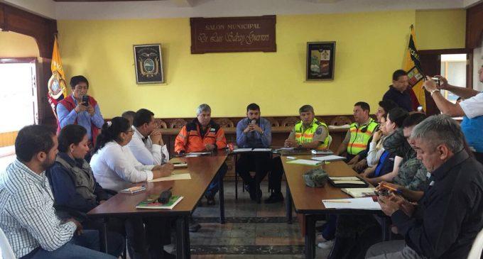 Minería y sus instituciones adscritas participaron en el COE activado en Zaruma