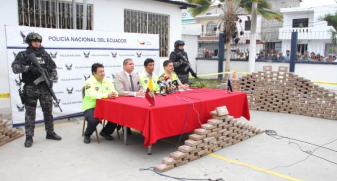 Más de una tonelada de cocaína se incautó en operativo Fortaleza 96,