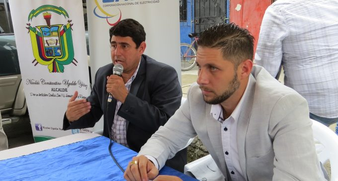 CNEL ejecuta ordenanza municipal del cantón Jujan